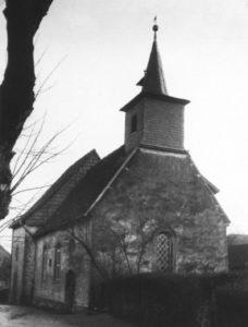Kirche, Ansicht von Nordwesten, vor 1957