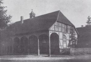 Kapelle, Ansicht von Nordwesten, 1938