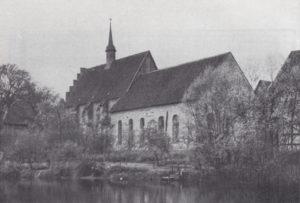 Klosterkirche und Gemeindekirche, Ansicht von Südosten, 1939
