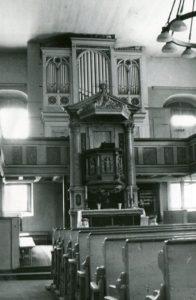Gemeindekirche St. Marien, Blick zum Altar