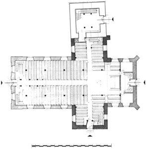 Kirche, Grundriss, 1962