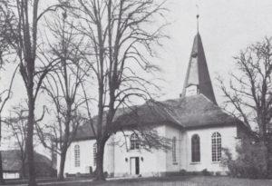 Kirche, Ansicht von Nordosten, 1962