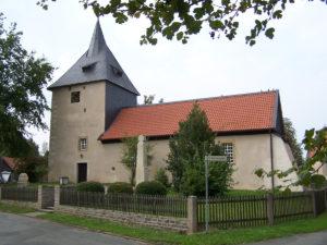 Ansicht der Kirche von Südosten, 2009