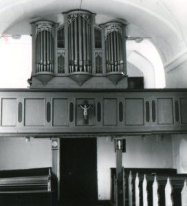 Orgel, Zustand April 1976