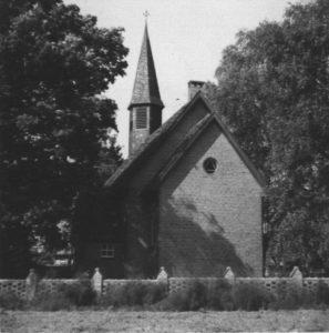 Kapelle, Ansicht von Osten, um 1960