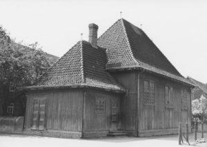 Notkirche, Außenansicht, nach 1916, vor 1922