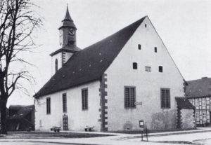 Kirche, Ansicht von Südosten, 1973