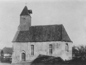 Kirche, Ansicht von Südosten, 1896 (?)