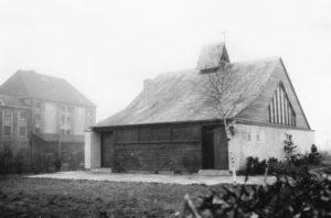 Alte Kapelle, Außenansicht, 1951 erbaut, vor 1981