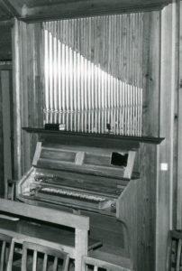 Alte Kapelle, Orgel, nach 1956, vor 1981