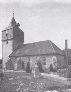 Kirche, Ansicht von Südosten, 1935