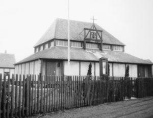 Kirche, Außenansicht, 1950 (?)