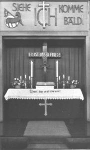Altar, um 1950
