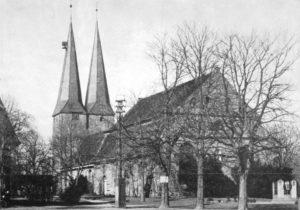 Kirche, Ansicht von Südosten, 1956 (?)