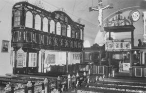 Kirche, Chor, Blick zum Altar
