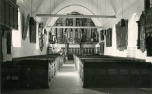 Kirche, Blick zur Orgel, nach 1967