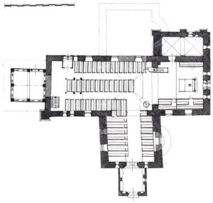 Kirche, Grundriss der heutigen Kirche