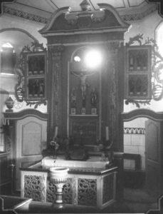 Altaraufsatz, 1931