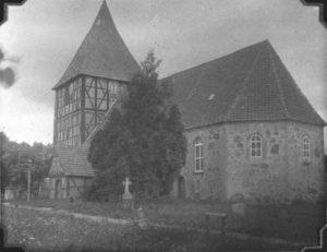 Kirche, Ansicht von Südosten, 1931