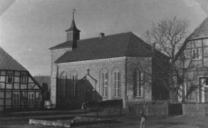 Kirche, Ansicht von Südosten, um 1960