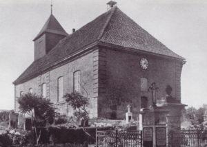 Neue Kirche, Ansicht von Südosten, 1956