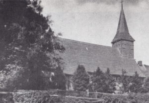 Kirche, Ansicht von Südosten, 1934 oder 1938