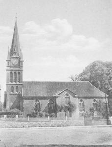 Kirche, Ansicht von Süden, 1940