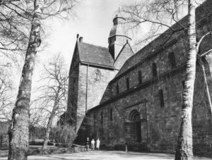 Kirche, Ansicht von Nordosten, 1983