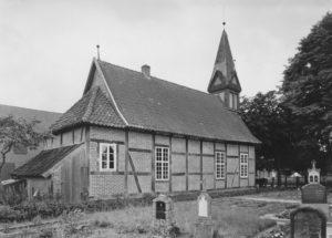 Kapelle, Ansicht von Nordosten, 1954
