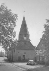 Alte Kirche, Ansicht von Nordwesten, 1957