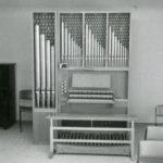 Gemeindesaal, Orgel, 1979