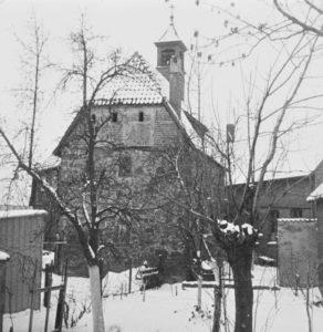 Kapelle, Ansicht von Nordosten, 1961