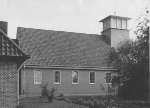 Kirche, Ansicht von Süden, 1957