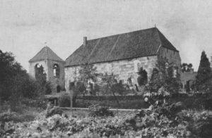 Kirche, Ansicht von Südosten, Foto für ein Prospekt, 1948