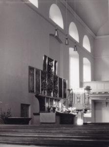 Kirche, Innenansicht, 1960, Foto: Photo Günter