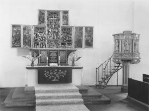 Flügelaltar, Kanzel, nach 1961