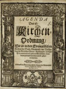 Titelblatt Kirchenordnung Osnabrück 1652
