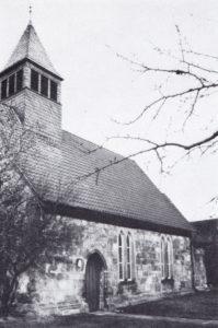 Kirche; Ansicht von Südwesten, 1974