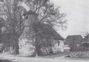 Kapelle, Ansicht von Südwesten, 1933 oder 1936