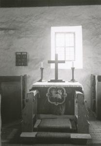 Kapelle, Altar
