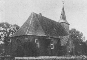 Kirche, Ansicht von Nordosten, 1934 oder 1938