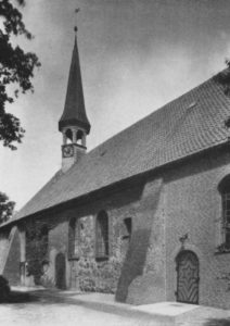 Kirche, Ansicht von Südosten, vor 1965