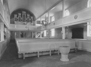 Kirche, Blick zur Orgel, nach 1937