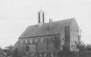 Kirche, Außenansicht, um 1932