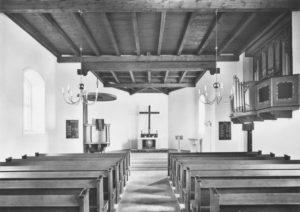 neue Kirche, Blick zum Altar, nach 1938
