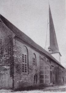 alte Kirche, Ansicht von Nordosten, vor 1936
