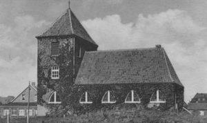 Große Ev. Kirche, Ansicht von Süden, 1949