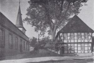 Kirche, Ansicht von Nordwesten, 1935