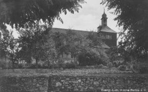Kirche, Ansicht von Norden, um 1951