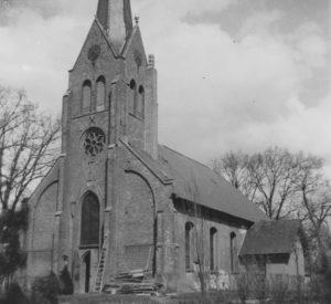 Kirche, Ansicht von Südwesten, vor 1952